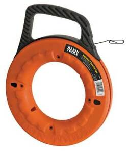 Klein Tools 56002 Marked Fish Tape 1 8 In X 65 Ft steel