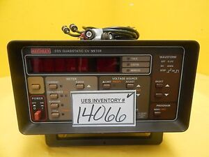 Keithley Instruments 595 Quasistatic Capacitance Voltage Cv Meter Used Working