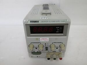 Tenma 72 2075 Laboratory 30v Dc Power Supply 3a