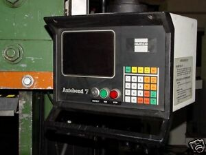 Hurco Autobend Cnc Axis Back Gauge S7 A7 Also Automec G24 Many Rebuilt 1 2 3