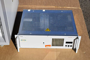 Pfeiffer Tcp 600 Turbo Pump Controller Vacuum Rack Mount Model Pm C01320 Vaccum