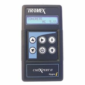Moisture Meter for Concrete wood digital Tramex Cmex2