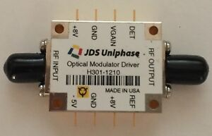 Jdsu H301 1210 10gbs Fiber Optical Modulator Driver brand New