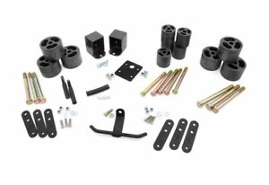 Rough Country 2 0 Body Lift Kit Jeep Wrangler Yj 4wd Rc610