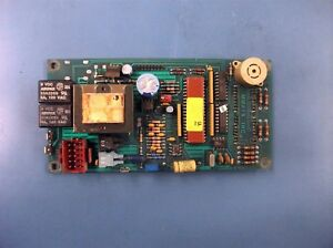 Adc Stack Dryer Cpu Coin Control Board Computer P n 137130 used