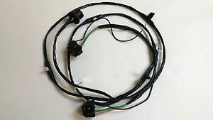 1962 Chevy Pick Up Truck Headlight Grille Extension Wiring Harness Single Lights