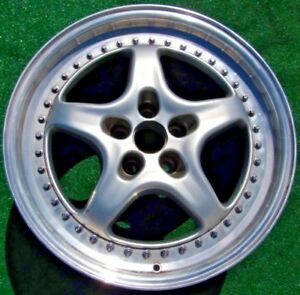 Genuine Oem Factory Ferrari Speedline 355 F355 2 Piece Modular 18 X 8 5 In Wheel