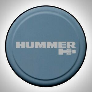 1 New Gm Hummer H3 H3t 32 Inch Spare Tire Cover Slate Blue By Boomerang 265 Tire