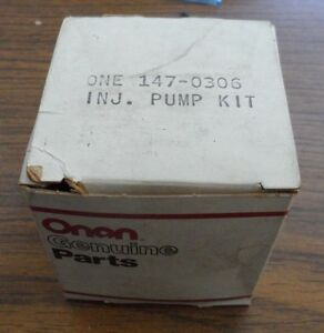 Onan Injector Pump Kit Part Number 147 0306