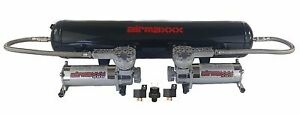 Air Ride Suspension Air Compressors 580 Chrome 5 Gal Tank 180 Off Switch