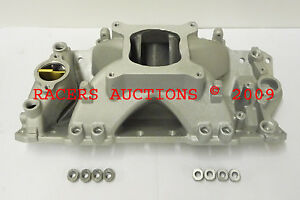 Sbc Sb Chevy Aluminum Fuel Injected Efi Intake Manifold High Rise Single Plane