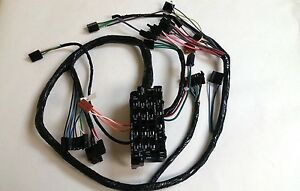 1969 1972 Chevy Pick Up Truck Under Dash Wiring Harness With Gauges 1969 Blazer