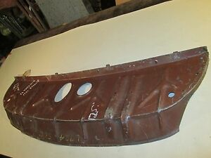 1951 Lincoln Il 7246506 Nos Rear Window Deck Pan