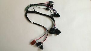 1962 1963 Chevy Pick Up Truck Instrument Cluster Wiring Harness Gauges Overspeed