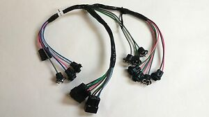 1962 1963 Chevy Pick Up Truck Instrument Cluster Wiring Harness Warning Lights