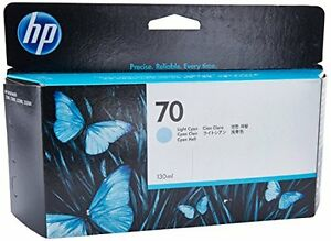 Hp Designjet Z2100 cyan Inkjet Ink 130 Ml Page Yield Hewc9390a New