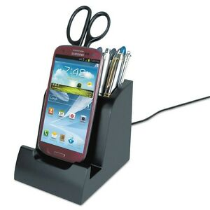 Victor Ph750 Smart Charge Dock With Pencil Cup For Micro Usb Devices New