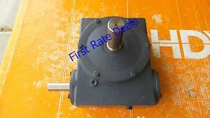 Hub City 0220 64607 Worm Gear Drive Right Angle Speed Reducer 451 10 1 B 10 1