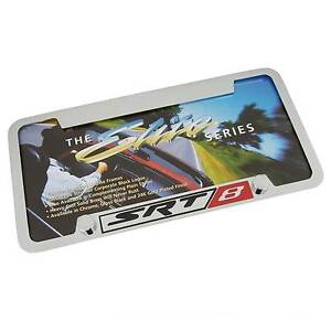 Dodge Srt 8 Bottom Hole Chrome License Plate Frame