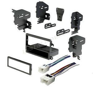 Complete Installation Kit Car Stereo Dash Kit Wire Harness Mount For Nissan