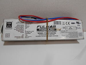 Fulham Thoroled Model T1unv1400 60l Constant Current Led Driver