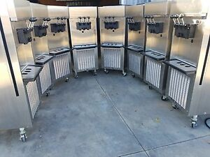 Sl500 132 Electro Freeze 8 Machines With Chiller Manifold Complete Used
