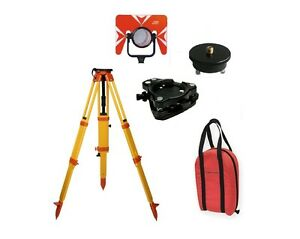 Cst Total Station Basic Starter Kit A Tripod Prism Tribrach Adapter