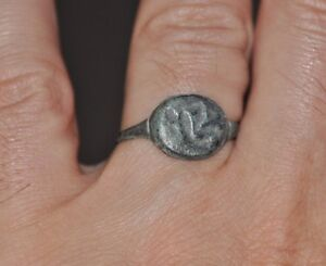 Ancient Authentic Roman Soldier Legionary Bronze Wearable Ring Sz Us 10 10 5