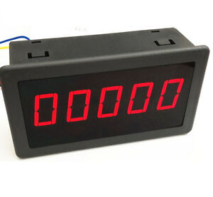Dc 12 24v 0 56 Red Led Digital Counter Meter Count Timer Timing Three Function