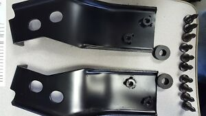 86 96 Corvette C4 Removable Convertible Auxiliary Hardtop Mounting Brackets New