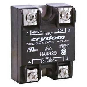 Solid State Relay 18 To 36vac 25a Crydom Ha4825e