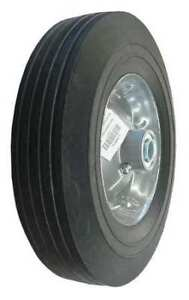 Zoro Select 1nwz7 Solid Rubber Wheel 10 In 450 Lb sym