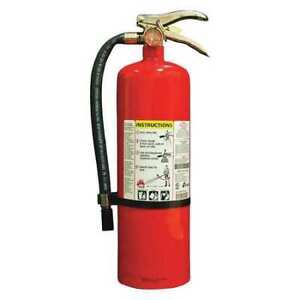 Fire Extinguisher 4a 80b c Dry Chemical 10 Lb 19 1 8 h Kidde Proplus10