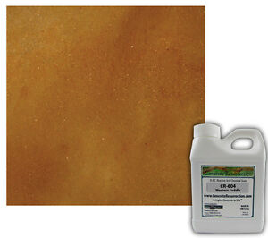 Professional Easy To Apply Concrete Acid Stain western Saddle 16oz