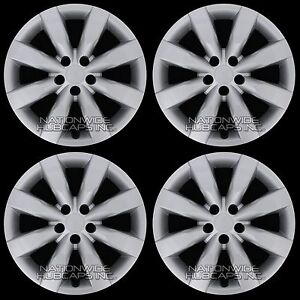 4 New 2009 2019 Toyota Corolla 16 Hub Caps Full Set Wheel Covers Fit Steel Rims