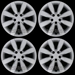 4 New 2009 2016 Toyota Corolla 16 Hub Caps Full Set Wheel Covers Fit Steel Rims