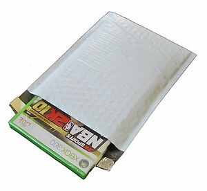 2 100 Poly Bubble Mailers 8 5 X 12 Dimple Design Padded Envelopes Bags 8 5x12