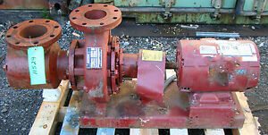 Armstrong 10 Hp 230 460 Volt Centrifugal Pump With Suction Guide Model 5x4x8 403