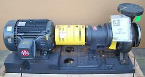 Gusher 75 Hp 230 460v 7600 Series Stainless Centrifugal Pump Pcl6x8 13seh cbm b