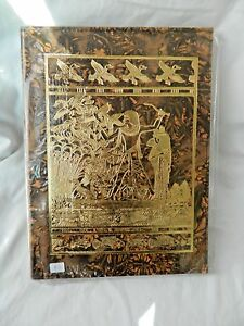 Egyptian Genuine Camel Leather Large Notebook Hunting Fishing 12 X 9 5 73