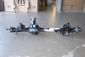 08 15 Jeep Wrangler Jk Front Axle Assembly 68035264ac Differential 3 73 Dana 30