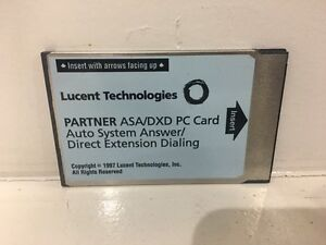 Refurbished Avaya Partner Asa dxd Pc Card Auto System Answer direct Extension