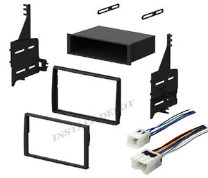 Complete Radio Stereo Install Dash Kit Wiring Harness For 05 06 Nissan Altima
