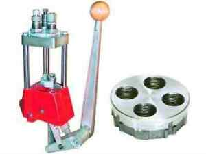 Lee Deluxe Turret Press 4 Hole With Auto Index Reload Kit Md: 90928