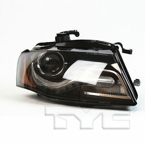 Tyc Right Side Xenon Hid Headlight Lamp Assembly For Audi A4 S4 2009 2011