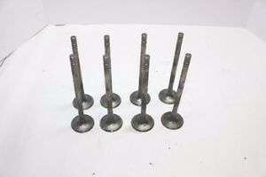 Manley Titanium Exhaust Valves 11 32 X 1 620 Chevy Ford Xceldyne Del West 4