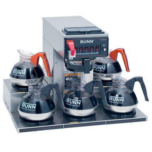 Bunn 13250 0023 12 Cup Coffee Maker Pourover With 5 Warmers Crtf5 35