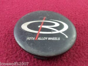 Rota Alloy Wheels Black Custom Wheel Center Cap 1