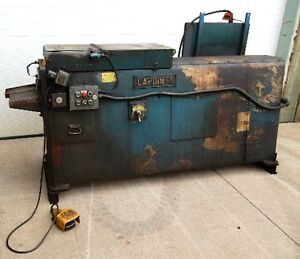 Lapointe Model Hp5 Horizontal Hydraulic Broaching Machine