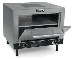 Nemco 6205 240 Pizza Oven Electric Counter Top Double 19 Stone Deck 240v